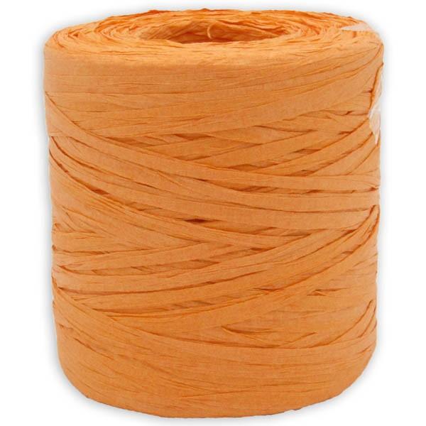 Papier Raffia orange
