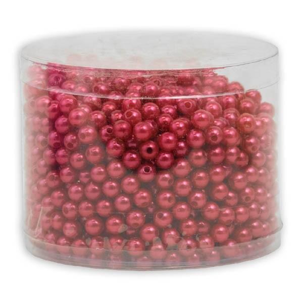 Perlen 8mm rot