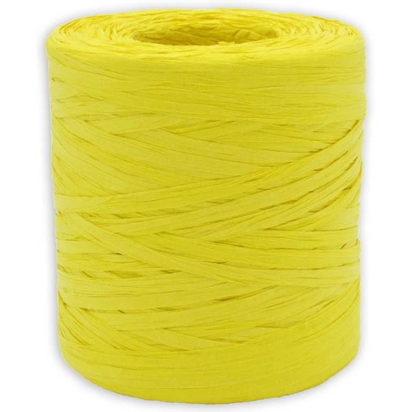 Papier Raffia gelb