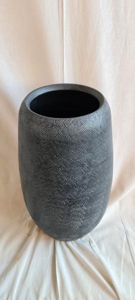 Vase Carlos schwarz 51x29cm