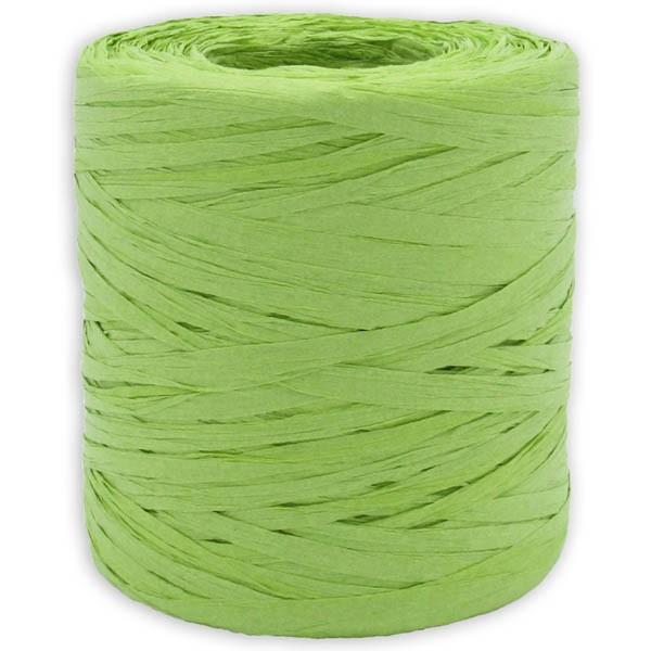 Papier Raffia apfelgrün