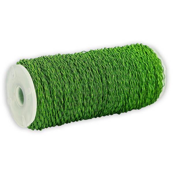 Bouilloneffektdraht apfelgrün